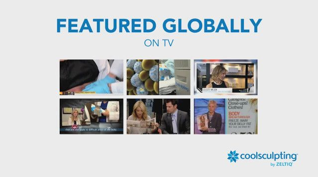 Featured Globally on TV video banner