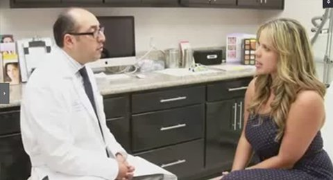 """Liliani Gonzalez """"CoolSculpting"""" with Dr. Behroozan on the 96.3 Radio Station"""