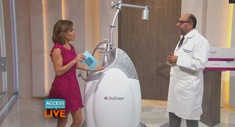 Watch Video: Dr. Behroozan speaks about Re-Shape Your Body With UltraShape on Access Hollywood
