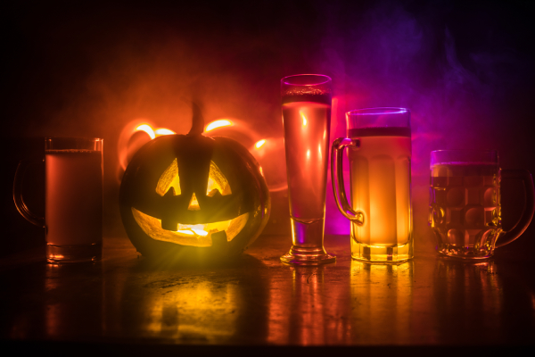 Halloween beverages are great, but can cause dehydration if they aren't limited